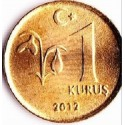 سکه 1 کروز - برنجی - ترکیه 2012 غیر بانکی