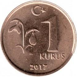 سکه 1 کروز - برنجی - ترکیه 2017 غیر بانکی