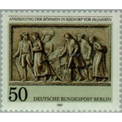 1 عدد تمبر 250مین سال توافق بوهمیا در ریکسدورف - برلین آلمان 1987