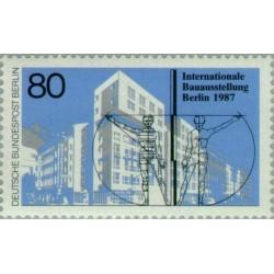 1 عدد تمبر نمایشگاه بین المللی ساختمان در برلین - برلین آلمان 1987