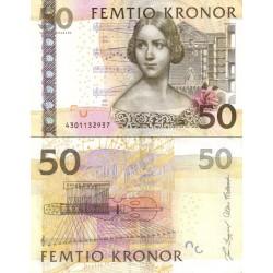 اسکناس 50 کرون - سوئد 2004