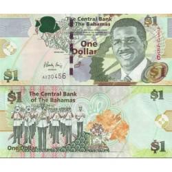 اسکناس 1 دلار - باهاماس 2008