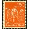 1 عدد تمبر از سری پستی - 150 فنیک  - رایش آلمان 1921