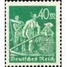 1 عدد تمبر از سری پستی - 40 فنیک  - رایش آلمان 1922