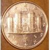 سکه 1 سنت یورو - مس روکش فولاد - ایتالیا 2007 غیر بانکی