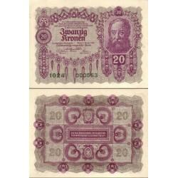 اسکناس 02 کرون - اتریش 1922