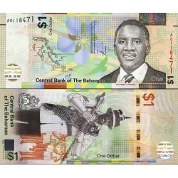 اسکناس 1 دلار - باهاماس 2017