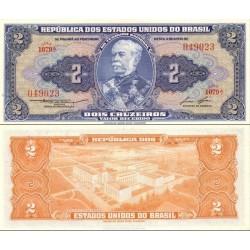 اسکناس 2 کروزرو  - برزیل 1958