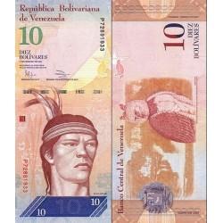 اسکناس 10 بولیوار - ونزوئلا 2011