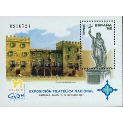 سونیرشیت نمایشگاه ملی تمبر اگزفیلنا 97 - اسپانیا 1997