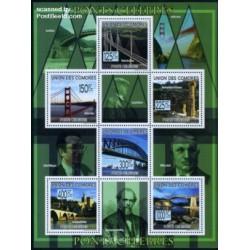 مینی شیت پلهای معروف - کومور 2009 قیمت 11.6 دلار