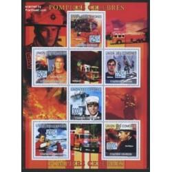 مینی شیت آتش نشانان - کومور 2009 قیمت 9 یورو