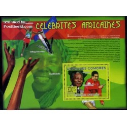 سونیرشیت مشاهیر آفریقا - نلسون ماندلا - کومور 2009 قیمت 12.2 یورو