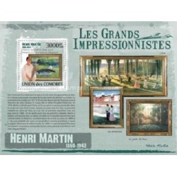 سونیرشیت تابلوهای نقاشی امپرسیونیسم اثر  هنری مارتین - کومور 2009 قیمت 13.97 دلار
