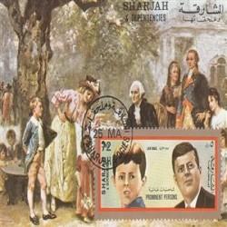 س ش با مهر صادراتی - کندی - شماره 4 - شارجه 1972