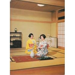 کارت پستال خارجی شماره 36 - فضای سنتی ژاپنی