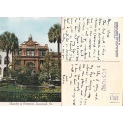 کارت پستال خارجی شماره 173 -مستعمل - ساوانا - آمریکا