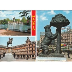 کارت پستال خارجی شماره 179 -مستعمل - مادرید - اسپانیا