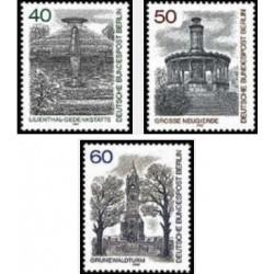 3 عدد تمبر فواره های برلین- برلین آلمان 1980