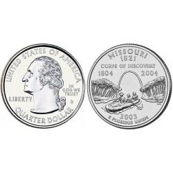 سکه کوارتر - ایالت میسوری - آمریکا 2003 غیر بانکی