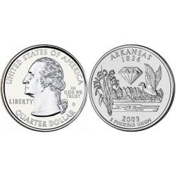 سکه کوارتر - ایالت آرکانزاس - آمریکا 2003 غیر بانکی
