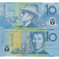 اسکناس پلیمر 10 دلار - استرالیا 2012
