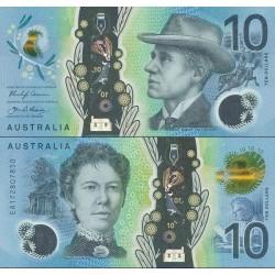 اسکناس پلیمر 10 دلار - استرالیا 2017