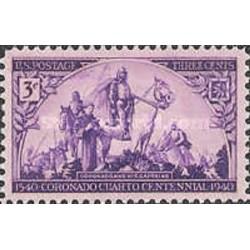 1 عدد تمبر 400مین سالگرد سفر اکتشافی کومودو  - آمریکا 1940