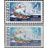 1 عدد تمبر 300مین سالگرد سفر نانساچ - کانادا 1968 بعضا یک لب بیدندانه