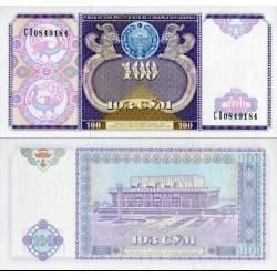 اسکناس 100 سام - ازبکستان 1994