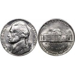 سکه 5 سنت - نیکل مس - آمریکا 1977غیر بانکی