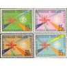 4 عدد تمبر ریشه کنی مالاریا  - توگو 1962