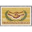 1 عدد تمبر سال همکاری بین المللی - ترینیداد و توباگو 1965