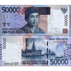 اسکناس 50000 روپیه  - اندونزی 2014