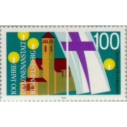 1 عدد تمبر صدمین سالگرد موسسه پرستاری خواهران رامسلبرگ - جمهوری فدرال آلمان 1990