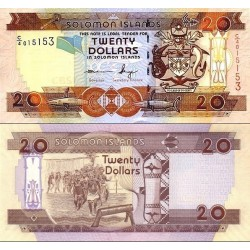 اسکناس 20 دلار - جزایر سلیمان 2011