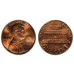 سکه 1 سنت - برنجی - آمریکا 1984غیر بانکی