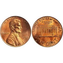سکه 1 سنت - برنجی - آمریکا 1993غیر بانکی