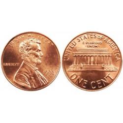 سکه 1 سنت - برنجی - آمریکا 1998غیر بانکی