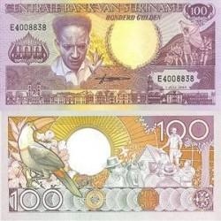 اسکناس 100 گلدن سورینام 1986 تک