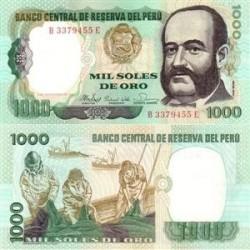 اسکناس 1000 سولس پرو 1981 تک