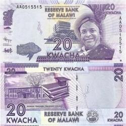 اسکناس 20 کواچا - مالاوی 2012 تک