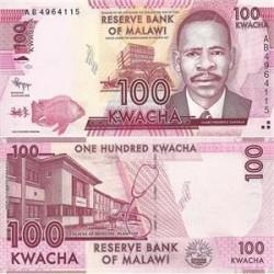 اسکناس 100 کواچا - مالاوی 2012 تک