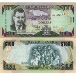 اسکناس 100 دلار - جامائیکا 2012 تک