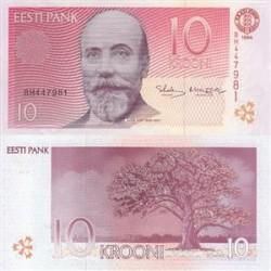 اسکناس 10 کرونی - استونی 1994 تک