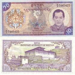 اسکناس 10 نگولتروم - بوتان 2000 تک