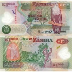 اسکناس پلیمر 1000 کواچا - زامبیا 2011 تک