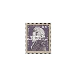 1 عدد تمبر پرتره موزارت - آلمان 1991