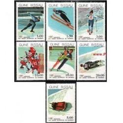 7 ع تمبر المپیک زمستانی - گینه بیسائو 1983