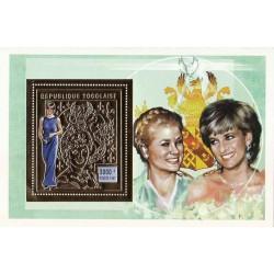 سونیرشیت طلایی یادبود دایانا  4 - چاد 1997